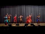 Танец Тилана - Коллектив Накшатра - концерт на Пуджу Дивали в Киеве 12.11.2012