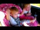 Дитина в машині під опа гангам стайл