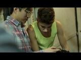 Джастин Бибер на съёмках рекламной компании adidas NEO